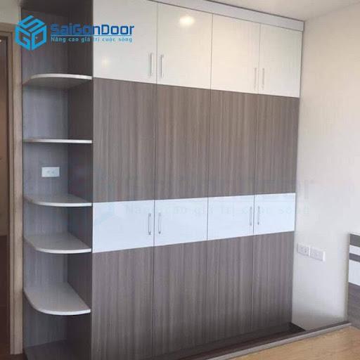 SaiGonDoor - xưởng sản xuất tủ quần áo gỗ công nghiệp số một tại Sóc Trăng